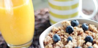Morning routin breakfast
