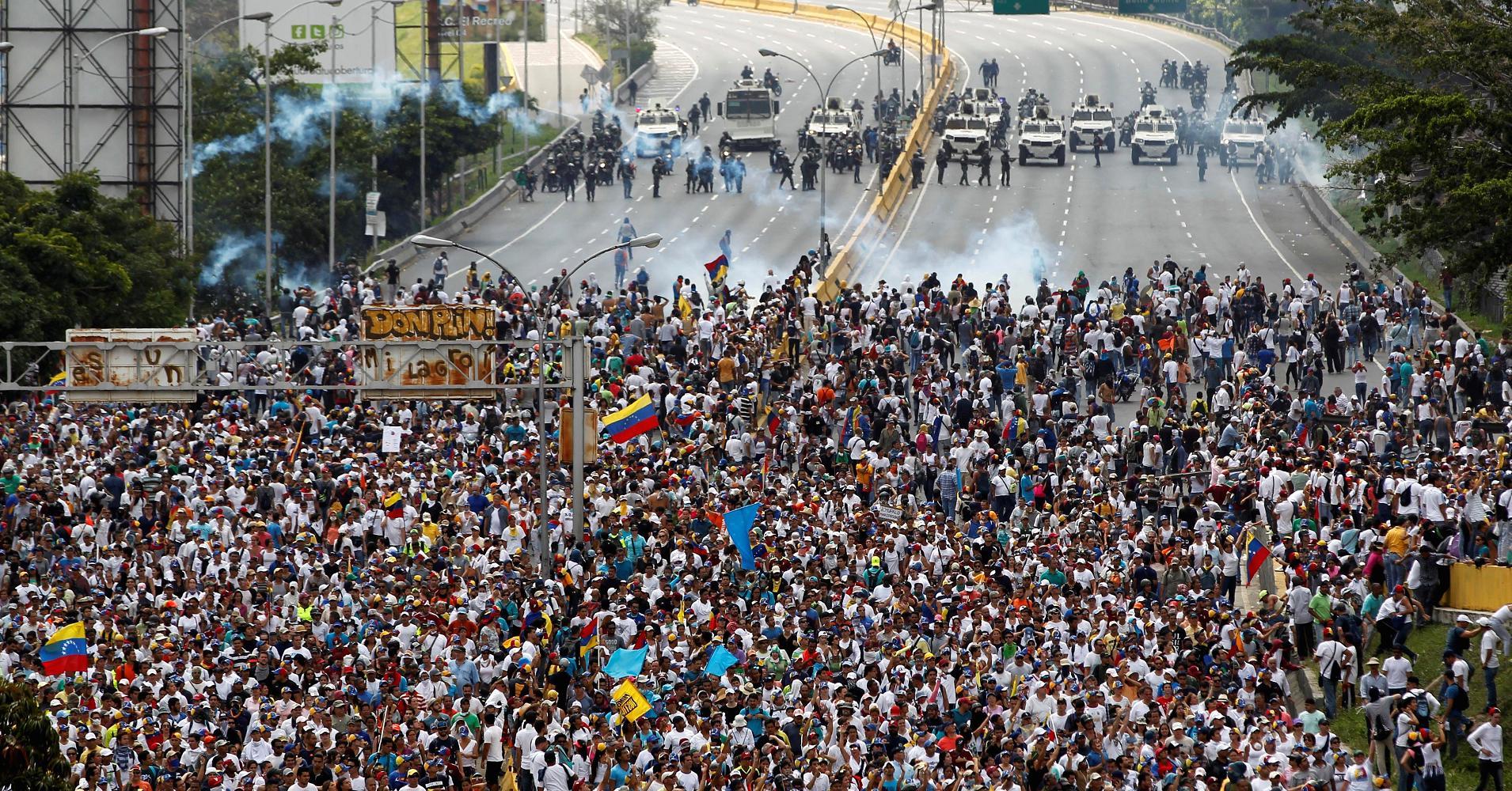 Venezuelan Mass Protest 2017