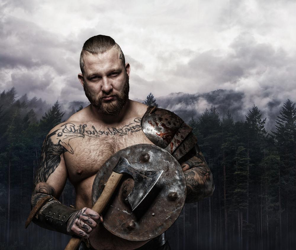 Tattooed Viking
