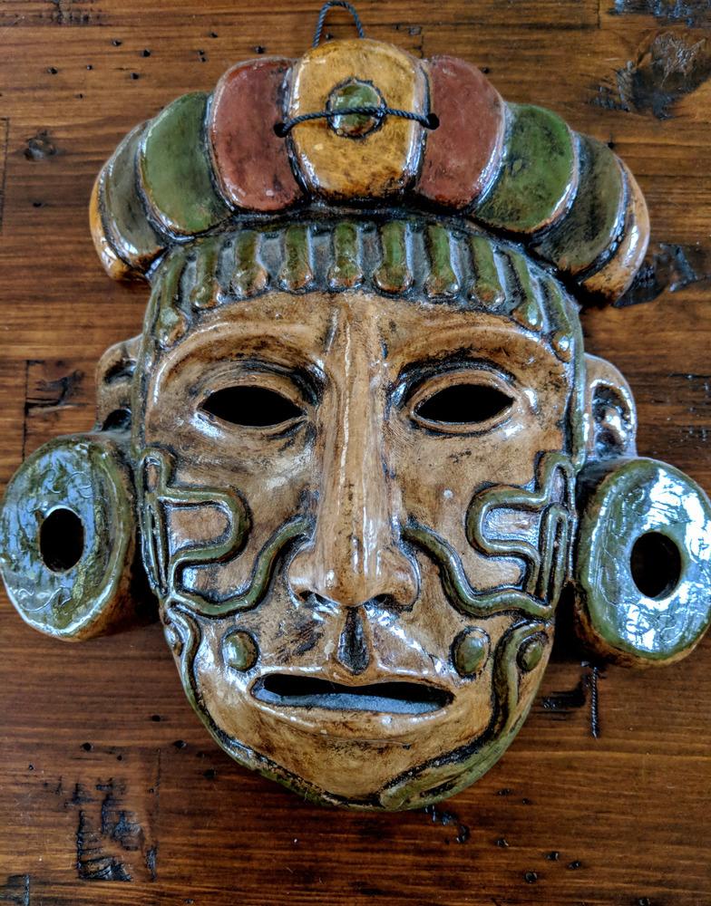 Ancient mayan tatoos