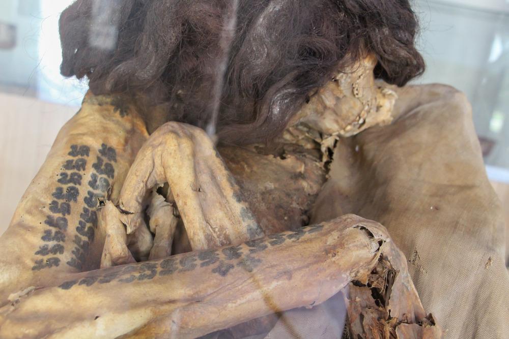 Ancient tattoos in Peru